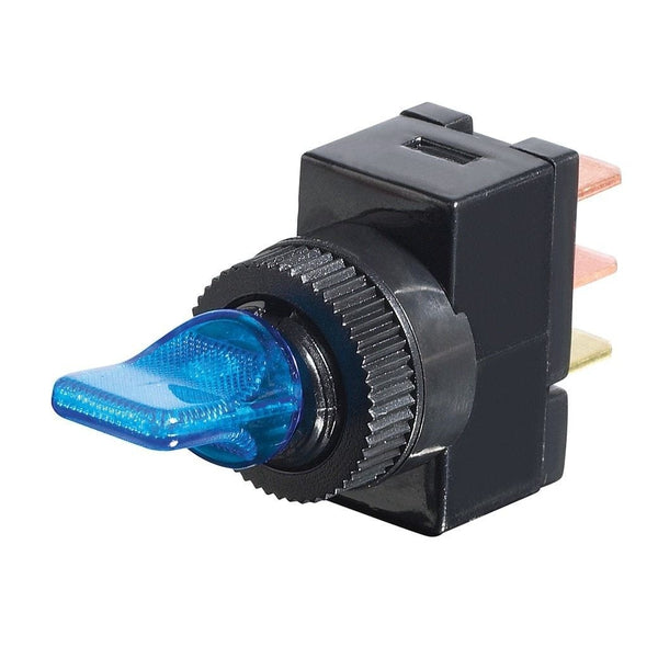 SPST 12-Volt DC Illuminated Switch