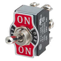 250VAC 6P DPDT ON-OFF-ON Toggle Switch, 10A