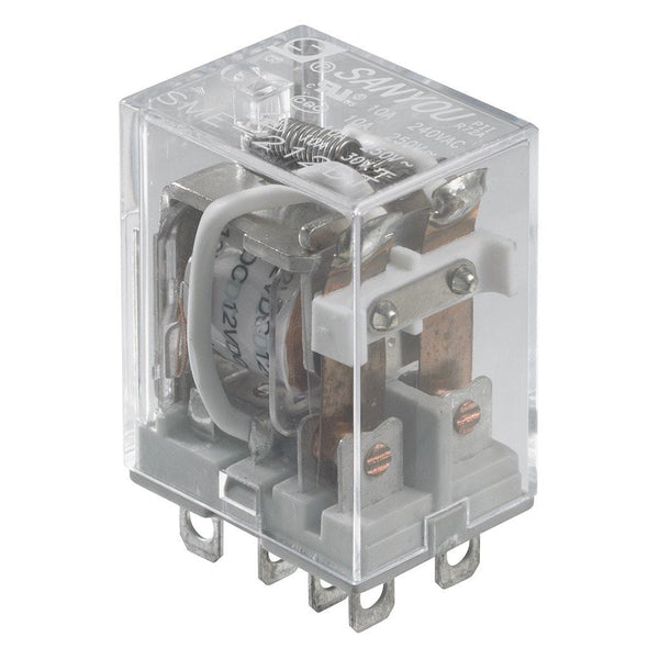 12V DC10A DPDT Relay Switch