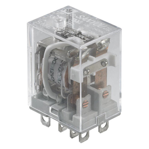 12V DC/10A DPDT Relay Switch