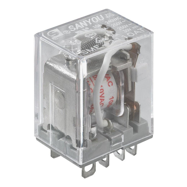 250V AC/10A DPDT Relay Switch