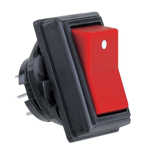 RadioShack DPDT Rocker Switch (Red)