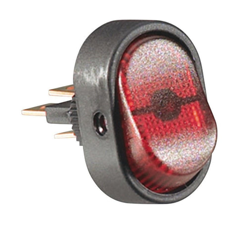 RadioShack SPST Oval Rocker Switch