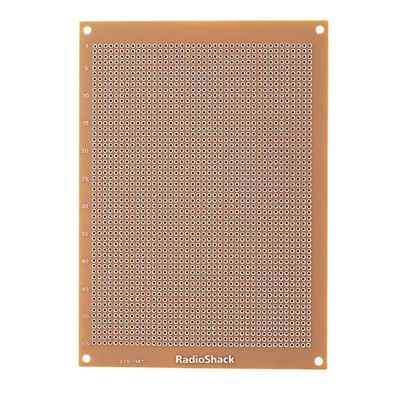 RadioShack Grid-Style PC Board with 2200 Holes