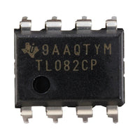 TL082 Input Amplifier IC - 8-Pin DIP