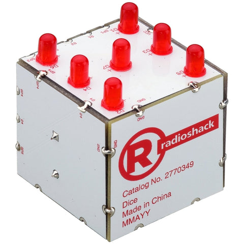 RadioShack Electronic Dice Kit
