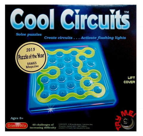 Science Wiz Cool Circuits 3-D Puzzle