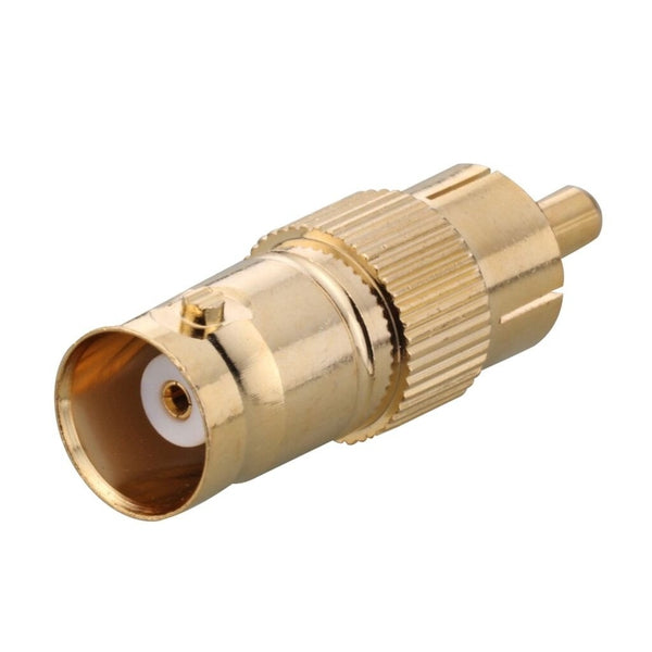 Gold-Plated BNC Female-to-RCA