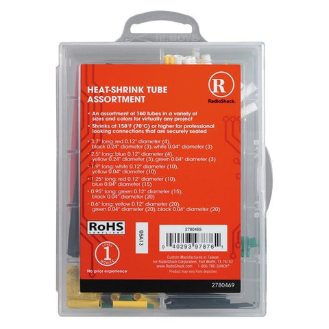 RadioShack Heat-Shrink Tube Assortment