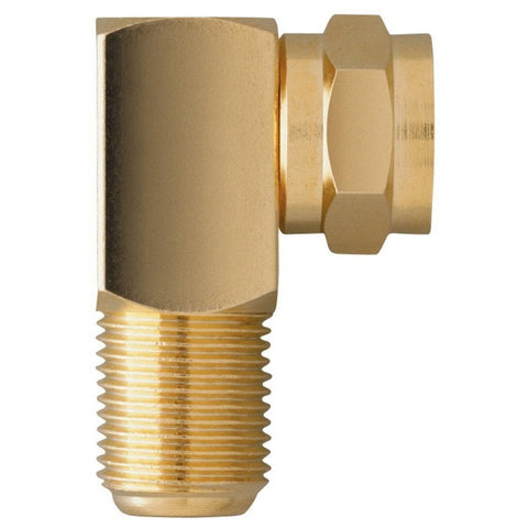 RadioShack Right-Angle F-Connector Adapters (2-Pack)