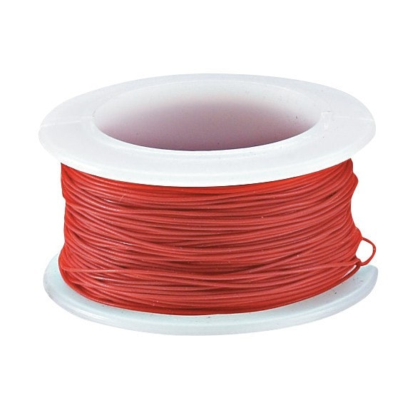 RadioShack 50-Foot 30AWG Wrapping Wire (Red)