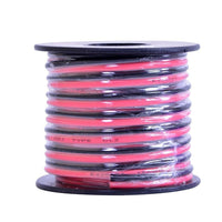 25-Foot 18AWG Stranded 2-Conduct Hookup Wire (Red/Black)