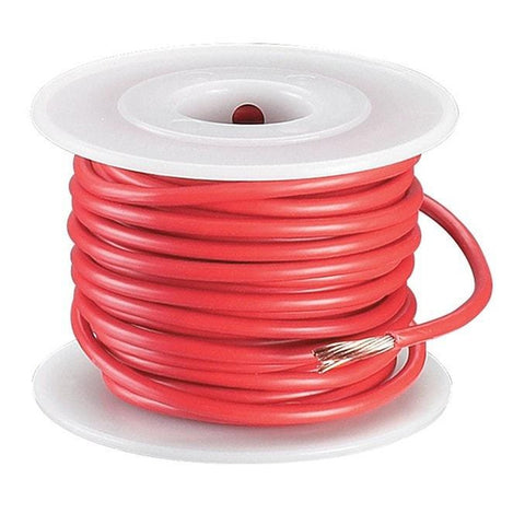 RadioShack 35ft 10AWG Automotive Hookup Wire (Red)