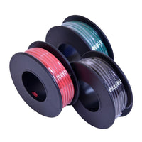 18-Gauge Stranded Hookup Wire 3-Pack - 15 Feet per Spool - Red, Black & Green