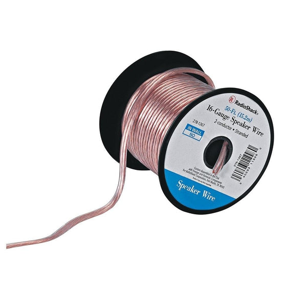 16 gauge speaker wire radioshack 16 gauge speaker wire greentooth