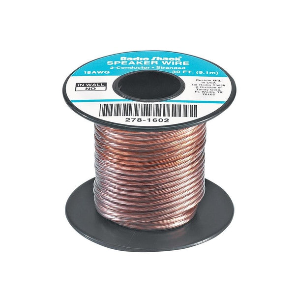 RadioShack 30-Foot 18-Gauge Speaker Wire