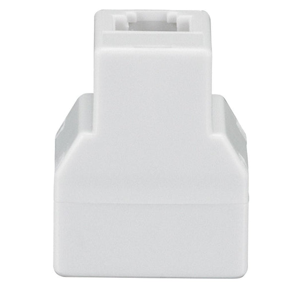 RadioShack 4-Pin 3-Way Coupler (White)
