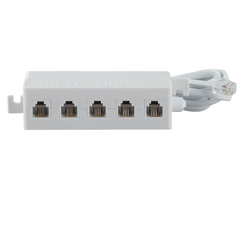 RadioShack 1-to-5 Adapter (White)