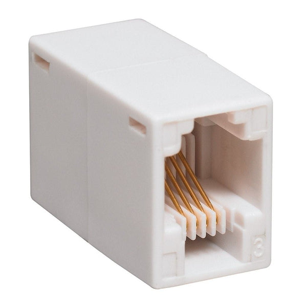 4 pin in line coupler (white) phone line wiring diagram how to install a dsl line