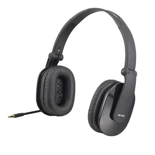 Auvio Foldable Headphones (Black)