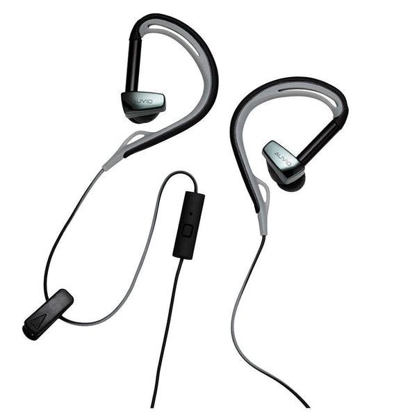 Auvio In-Ear Active Clip Headphones with Microphone