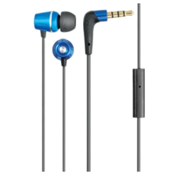 Auvio Element Earbuds with Microphone (Blue)