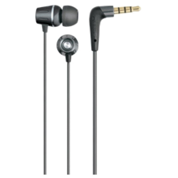 Auvio Element Earbuds with Microphone (Gunmetal)