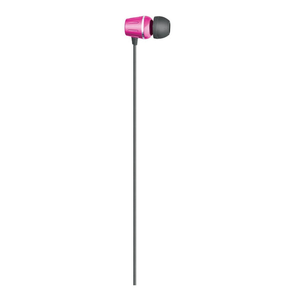 Auvio Element Earbuds with Microphone (Red)