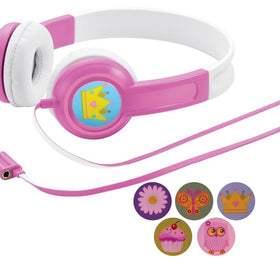 Auvio Kids Color Headphones (Pink)