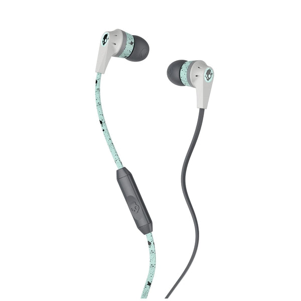 Skullcandy Ink'd Earbuds with Microphone Spectacular (Mint/Black)