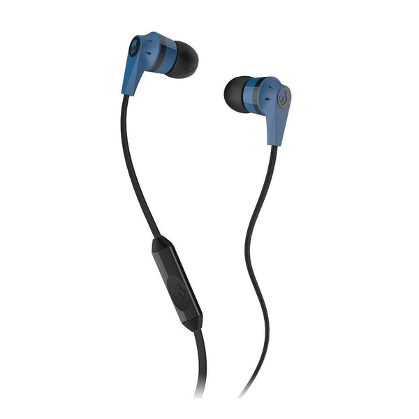 Skullcandy Ink'd Earbuds with Microphone (Blue/Black)