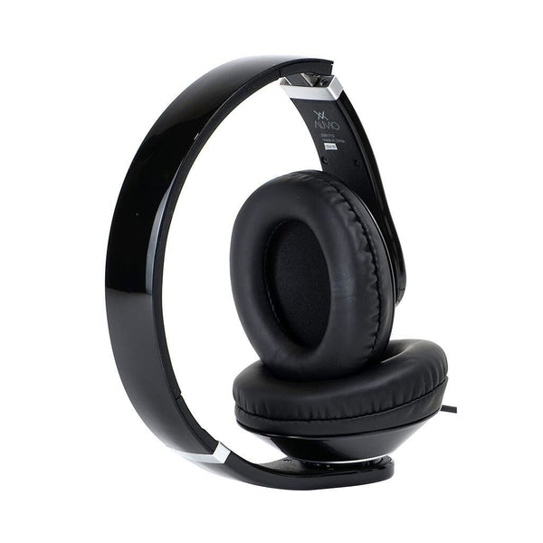 Auvio Over Ear Headphones with Mic & Remote (Black)
