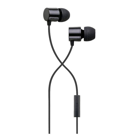 Auvio Color In-Ear Buds with Mic & Remote (Black)