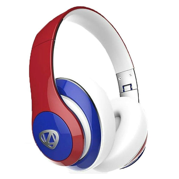 Ncredible1 Bluetooth Headphones (Red, White, Blue)