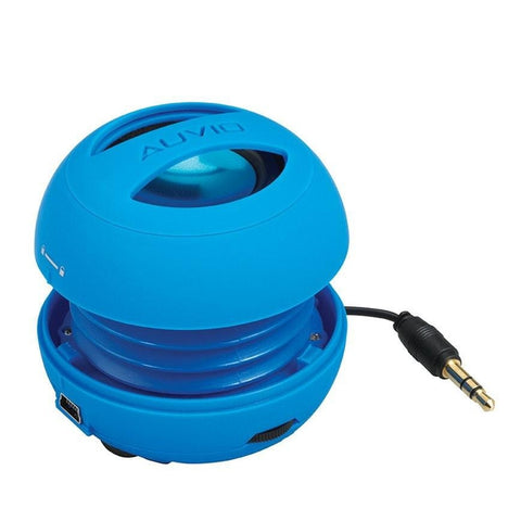 Auvio Portable Expanding Speaker (Blue)