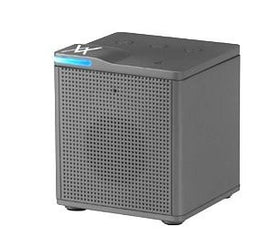 Auvio Portable Bluetooth Square Mono Speaker (Gray)