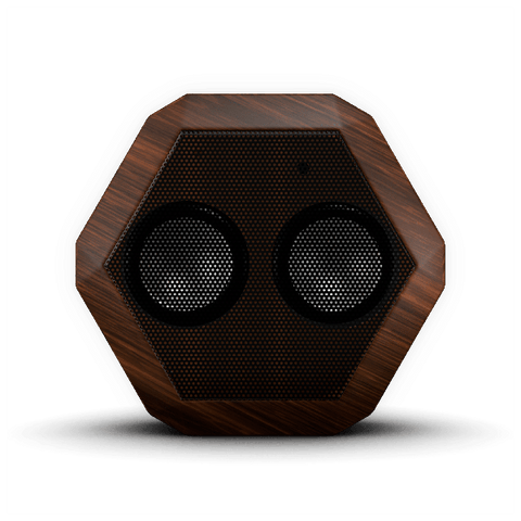 Boombotix REX Portable Bluetooth Speaker (Woodgrain)