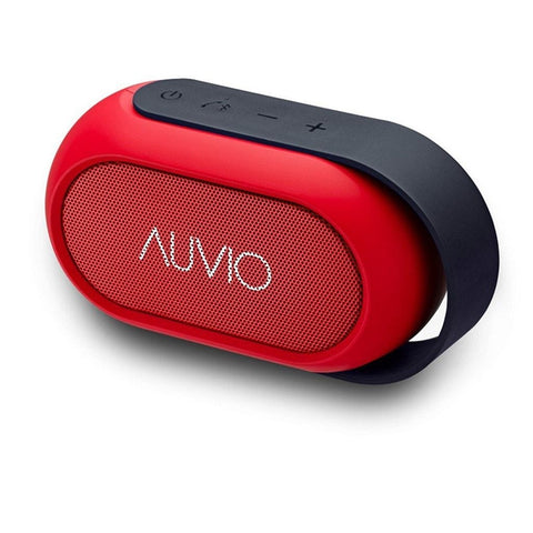 Auvio PBT600 Portable Bluetooth Speaker (Red)