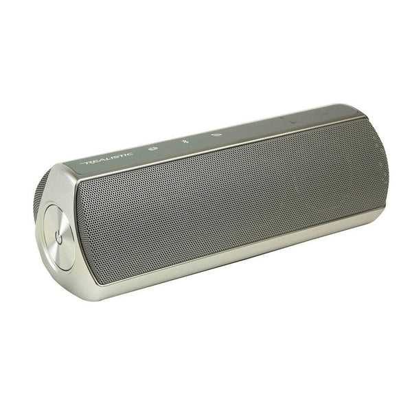 Realistic Stereo Bluetooth Speaker (Silver)