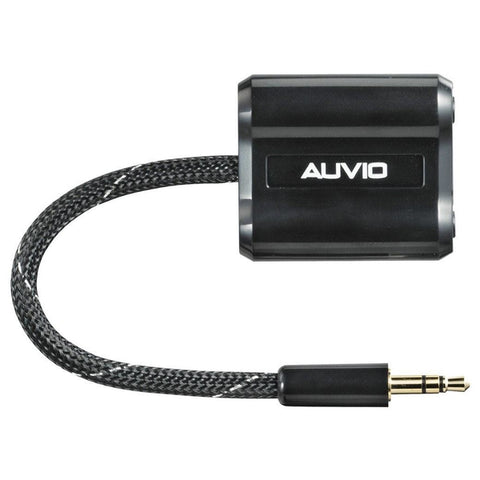 Auvio 3.5-Inch Headphone Splitter (Black)