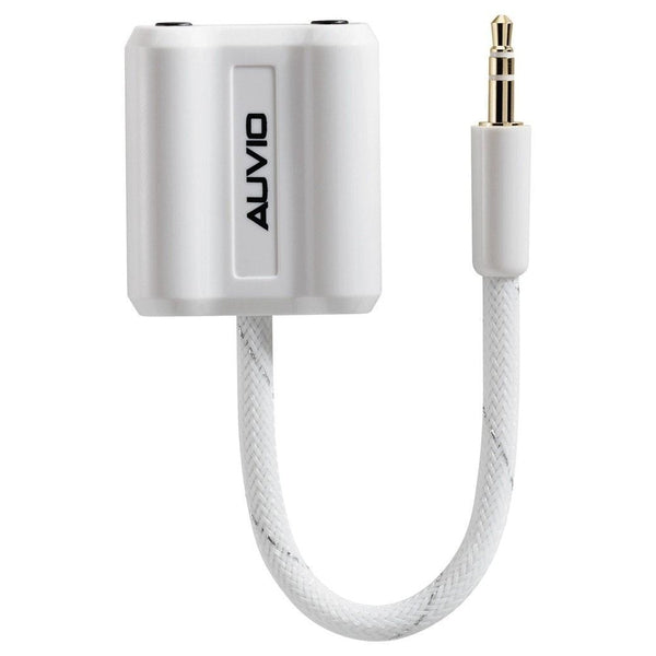 Auvio 3.5 Inch Headphone Splitter (White)