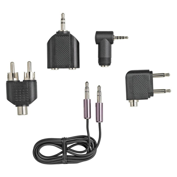 "RadioShack 1/8"" (3.5mm) Audio Cable and Adapter Kit"