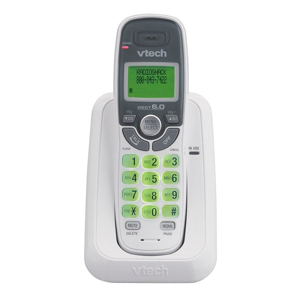 vtech cs6114 dect 6 0 cordless phone rh radioshack com Panasonic Cordless Phones DECT 6.0 Uniden-DECT 6.0 ManualDownload