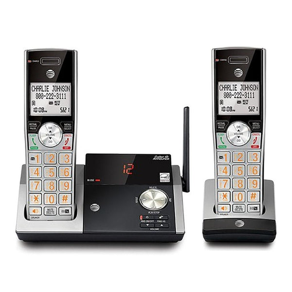 AT&T CL82215 Cordless Phone (2 Handsets)