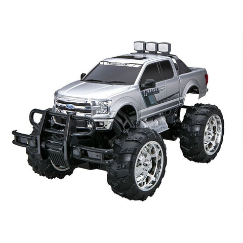 RadioShack 1:10 Scale Remote Control Ford F-150 with Off-Road Oversized Tires and Elevated Chassis