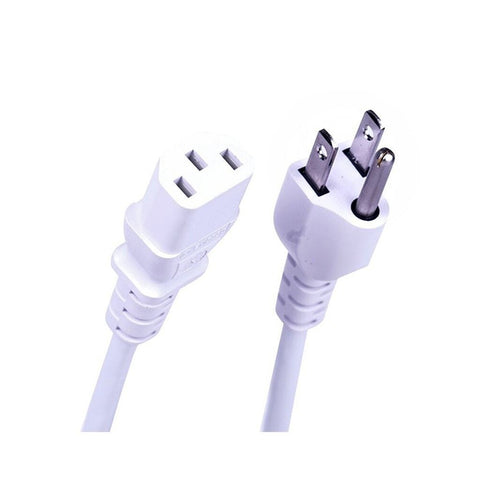 RadioShack 6-Foot AC Power Cord (White)