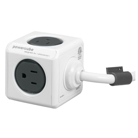 Allocacoc PowerCube Extended USB (Gray)