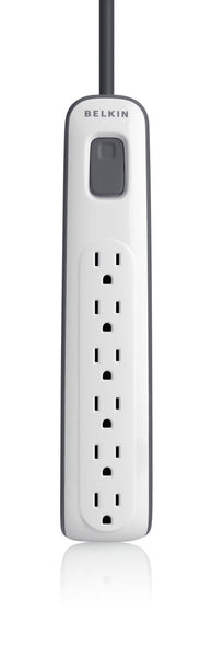 Belkin 6-Outlet Surge Protector with 4' Cord