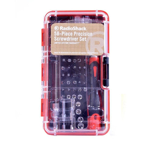 RadioShack 58-Piece Precision Screwdriver Set