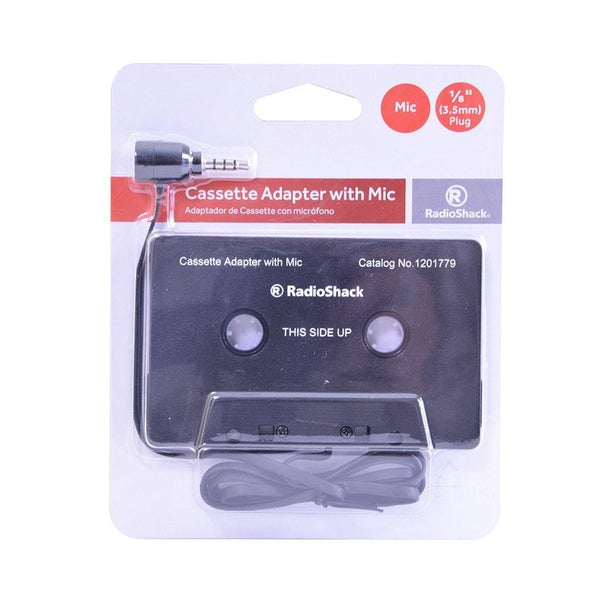 Cassette Adapter with Microphone